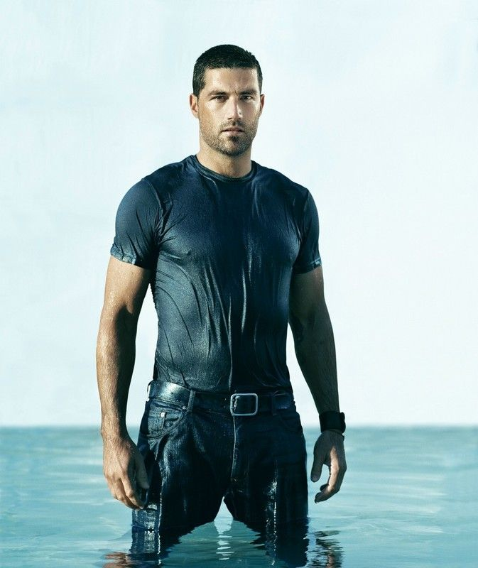 Matthew Fox--I'll be stuck on an island with him any day ;)