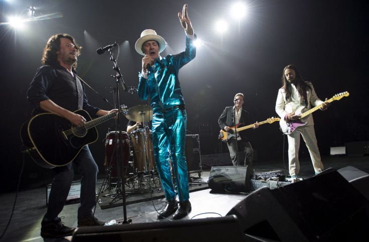 The Tragically Hip, shown on stage in Vancouver in July, will perform their last concert on Aug. 20 in Kingston, Ont. The show will be broadcast at several venues around Toronto.