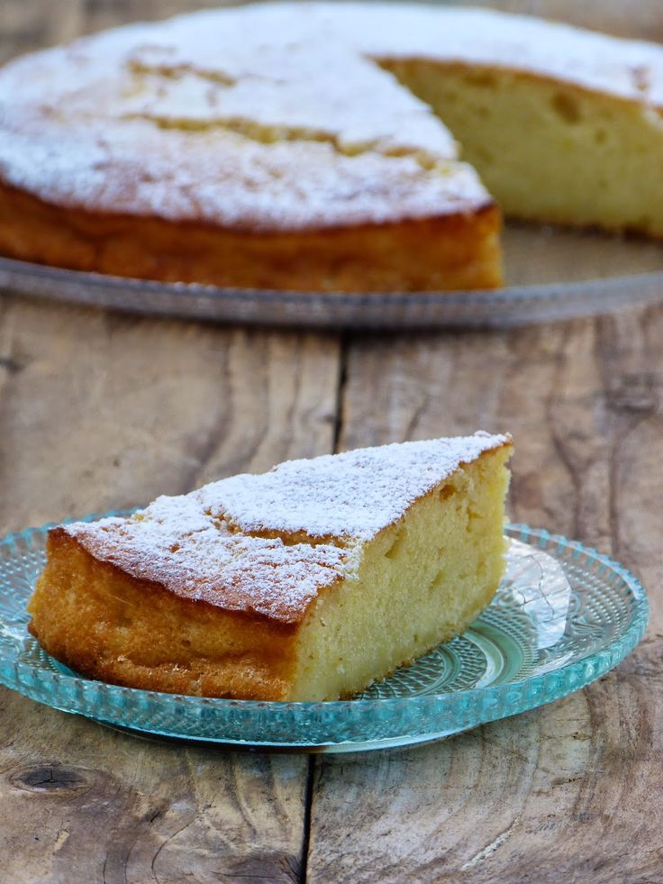 Chic, chic, chocolat...: Le Gâteau de Louisa {gâteau moelleux à la ricotta}...