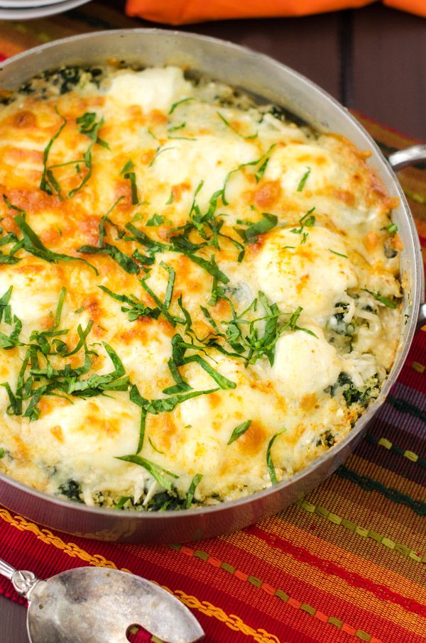 Who wouldn't want this Quinoa Florentine!?