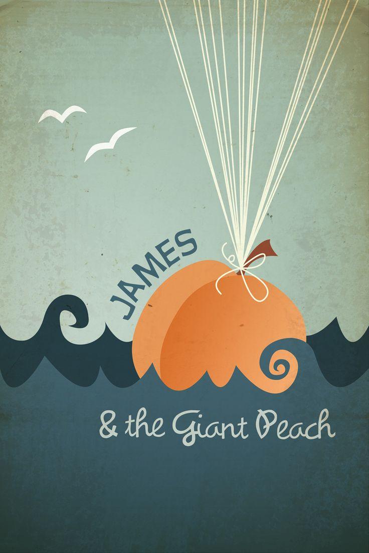 James amp the giant peach print kid decor pinterest