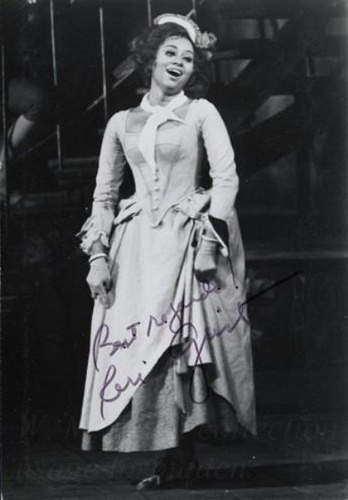 Jump to: navigation, search      Reri Grist (February 29, 1932) is an American coloratura soprano, one of the pioneer African-American singers to enjoy a major international career in opera.