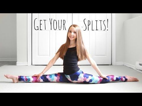 how to build up flexibility to do the splits