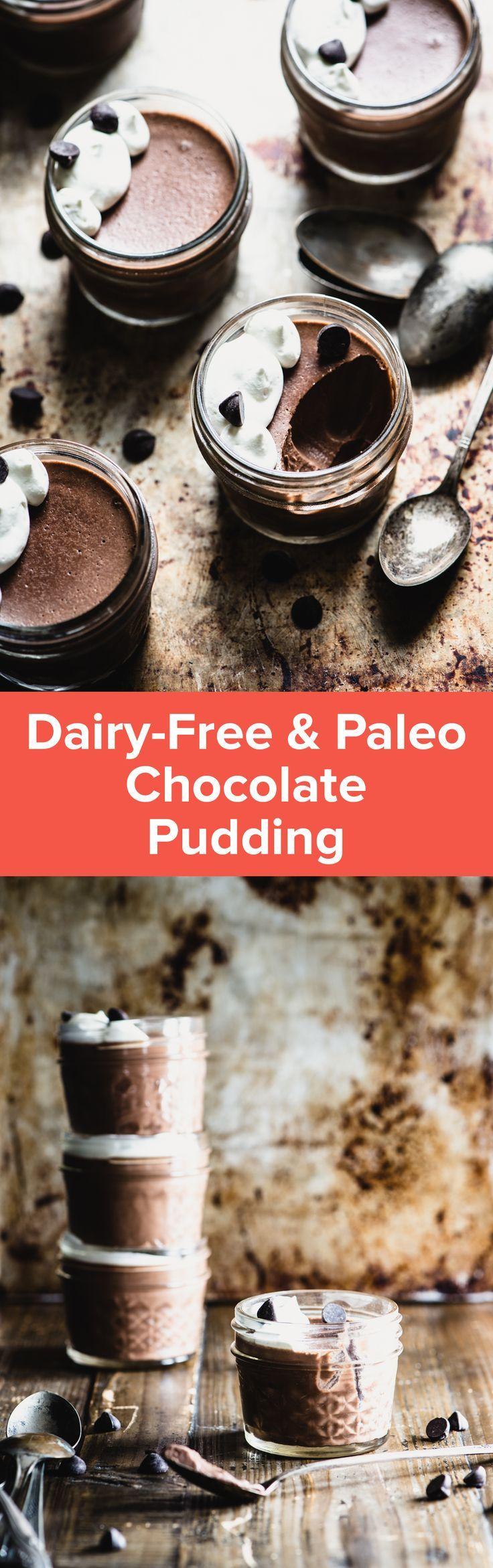 Paleo Chocolate Pudding (Dairy-Free)   StupidEasyPaleo.com
