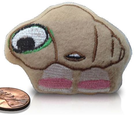 Marcel the Shell beanie plush toy Soft fleece toy by memebeans. $10.00, via Etsy.
