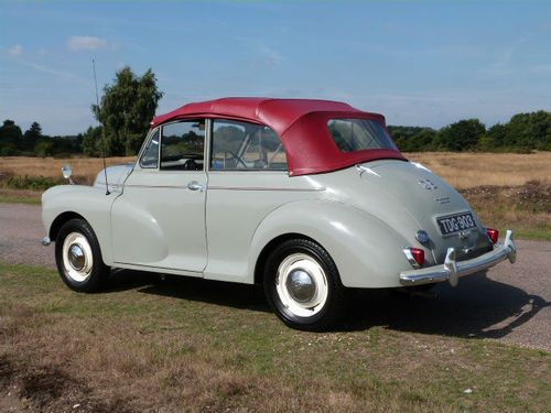 1957 Morris MINOR 1000 Sports/Convertible 948cc