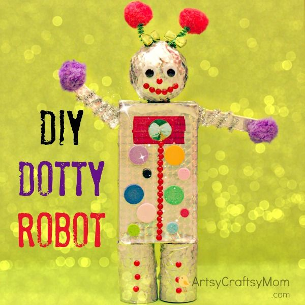13 Robot Crafts Your Kids Will Beg To Make Artsycraftsymom Blog