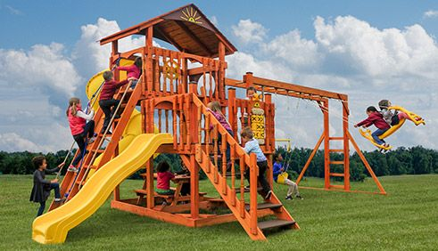 Swingsets Lancaster is a division of Star Ridge Structures, where Star Quality and King Swings are sold. We are an Amish owned and operated business in Lancaster, Pennsylvania. In addition to outdoor swingsets, Star Ridge Structures also sells Amish built outdoor storage sheds, chicken coops, garages, and other backyard structures.