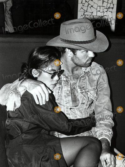 Photos and Pictures - London, UK. LIBRARY. George Michael and Cathy Young. Late 1980s. UPDATED CAPTION. George Michael dies aged 53. Reported death on the 25.12.2016. Ref:LMK11-261216GSCOT-001. Gabor Scott/PIP-Landmark Media. WWW.LMKMEDIA.COM.