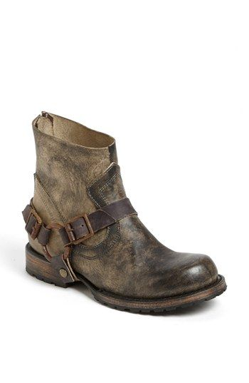 Freebird by Steven 'Hatchet' Boot available at #Nordstrom I wonder if I could take hubby's old work boots and cut the tops off of them ?!  Hmmmmmmmmmmmmm........