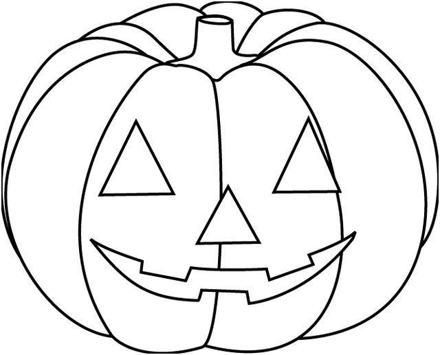Coloriage Citrouille D Halloween En Couleur Dessin Gratuit Coloriage Halloween A Imprimer Coloriage Halloween Citrouille Halloween Facile