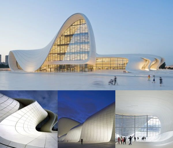 Perfect Zaha Hadid Architects Have Designed The Heydar Aliyev Center In Baku,  Azerbaijan.