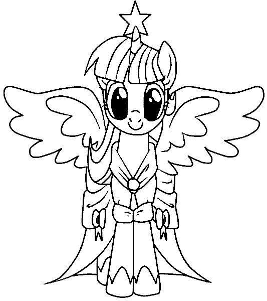 ausmalbilder my little pony kostenlos