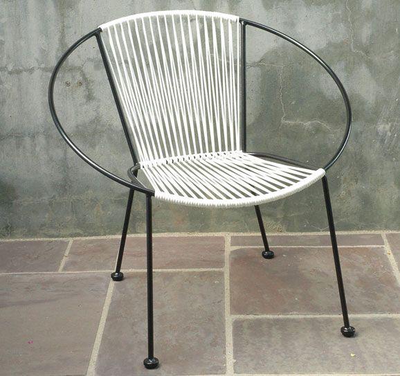 hoop chairs.