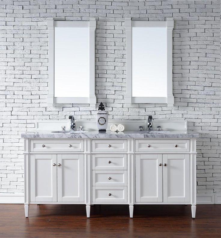 White Bathroom Double Vanity 100 best luxury bathroom vanities images on pinterest | luxury