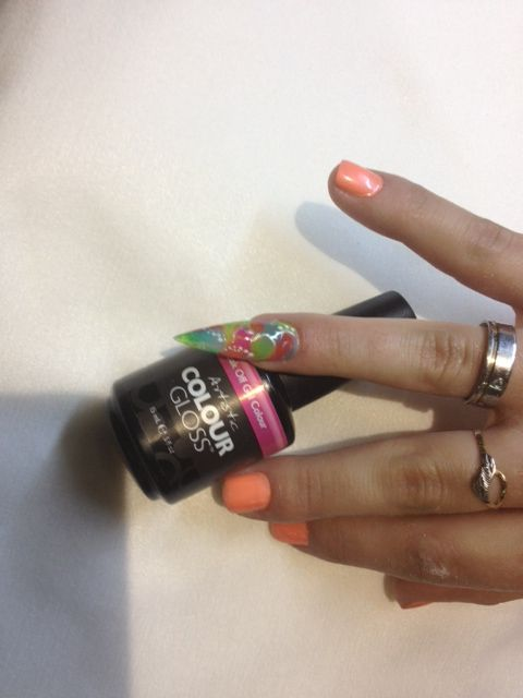 22 best artistic polish nail art images on pinterest facts artistic colour gloss nailart artisticnaildesign prinsesfo Image collections