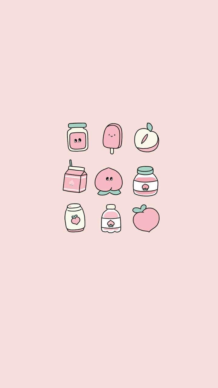 Pink Aesthetic Wallpaper Iphone Cute Cute Pastel Wallpaper Peach Wallpaper