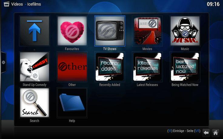 IceFilms XBMC Kodi Video Streaming Addon