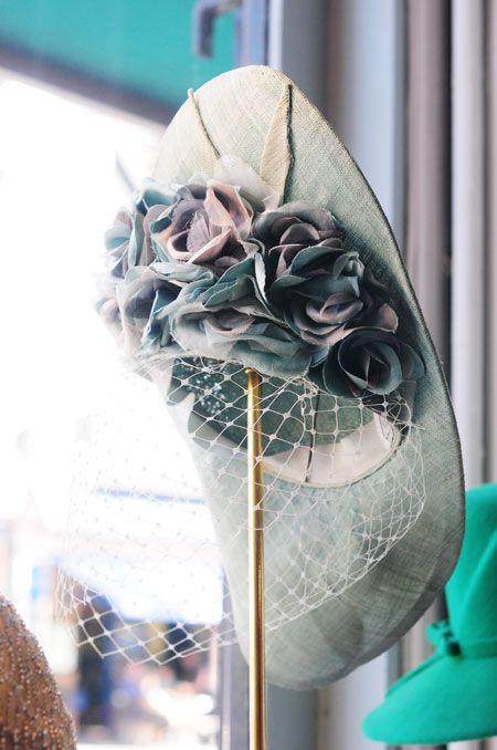 Edwina Ibbotson #hat #millinery