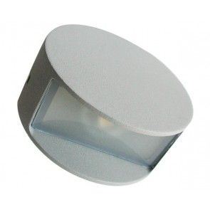 APLIQUE LED 4W 3000K IP44 ALUMINIO