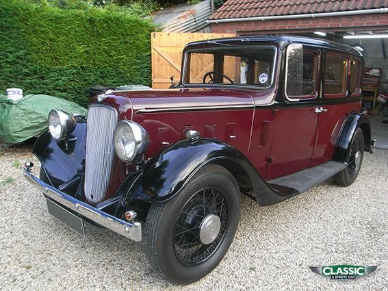 1936 Austin 16 Is 16hp enough to get up a hill?
