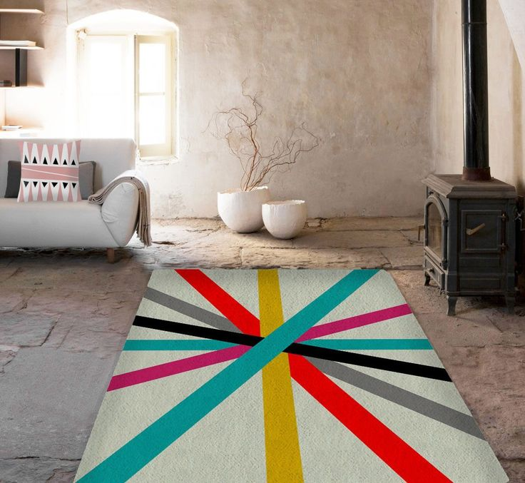 Cool Lines Rugs   Modern Area Rug   Living Room Rugs   Affordable Area Rugs