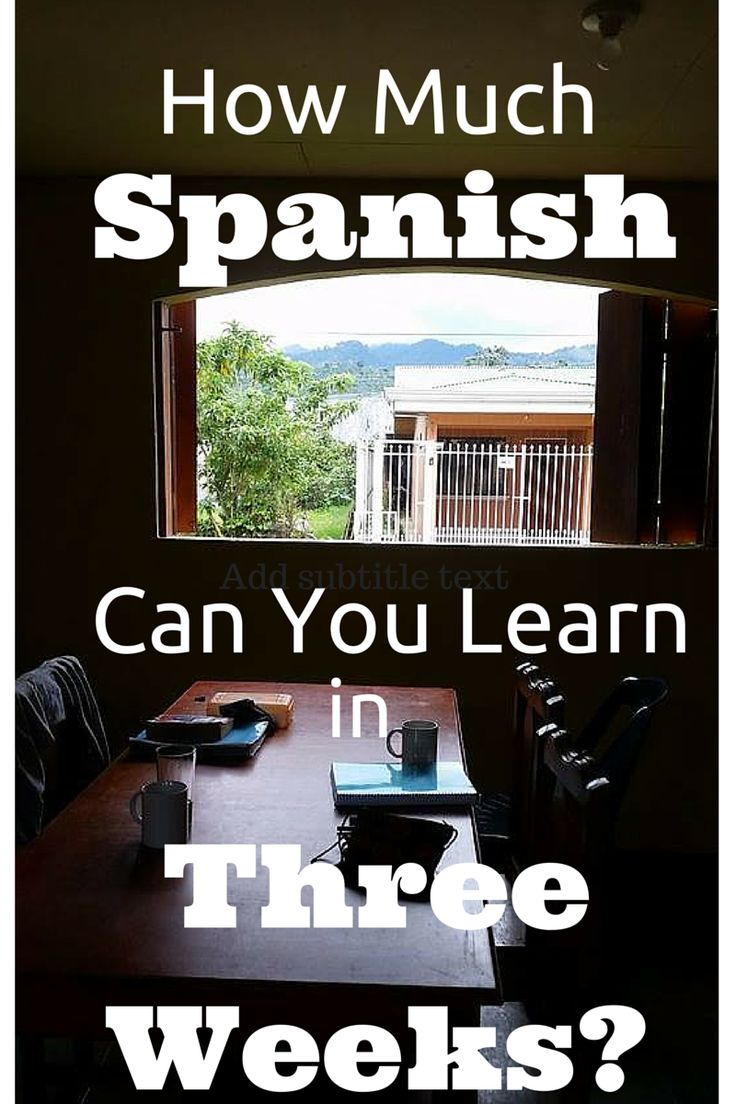 How Long Does It Take to Learn Spanish? (Science-Backed)