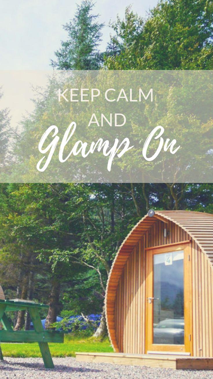 Unique Camping Pod Rentals on 30-Acre Park near Ben Nevis, Scotland