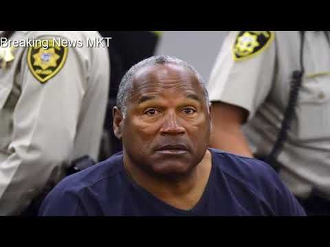 OJ Simpson released on parole from Nevada jail