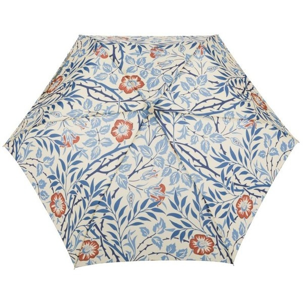 William Morris & Co. Superslim-2 Sweet Briar Umbrella, Blue (955 RUB) found on Polyvore