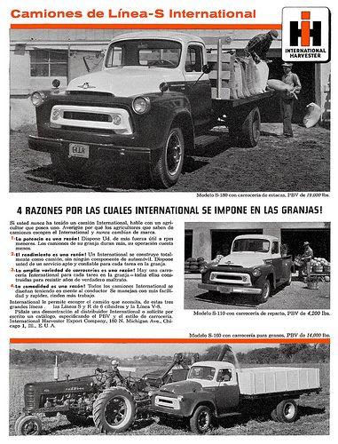 International Harvester trucks (1957) Línea S-110, S-160 y… | Flickr