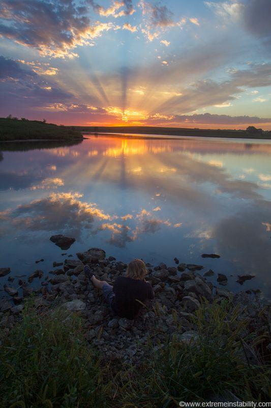 Lincoln Nebraska Sunset