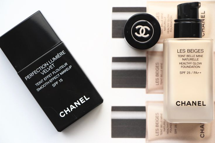Chanel Foundations: Les Beiges vs Perfection Lumiere Velvet | A Model Recommends