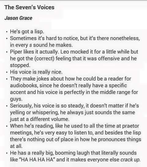 I like this but I don't think Leo would do something like that to begin with, he knows what it's like to stick out or be unusual and he would probably stand up for Jason when others made fun of it.