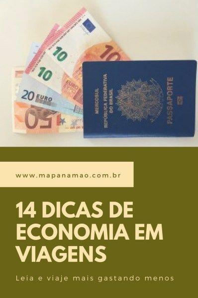 Viajar e gastar menos, quem não quer? Então não deixe de ler este post com 14 dicas de economia para as suas viagens.