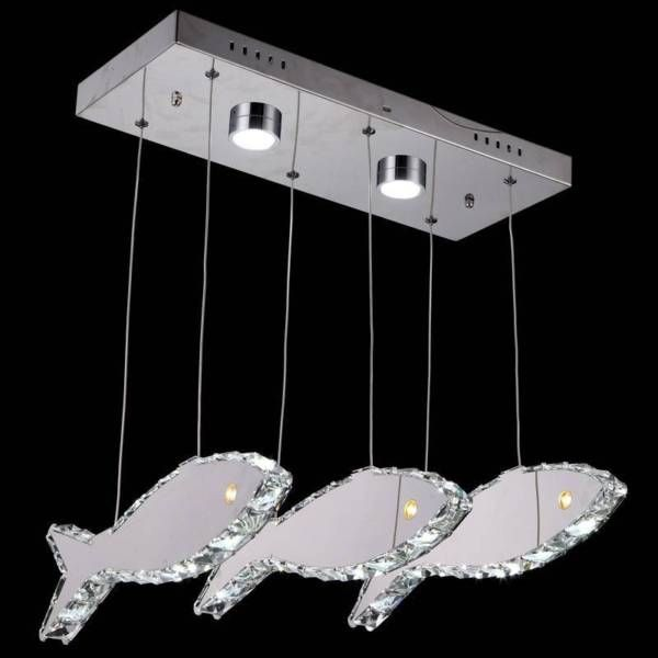 LED crystal Fish pendant light is made by stainless steel, It comes with a free remote control and battery so it allows our customer to switch the light on/off by both power switch and remote control. Buy online any 2 items and Get the 3rd Free. Limited time only! Call Us 03 8528 1831 for more info.