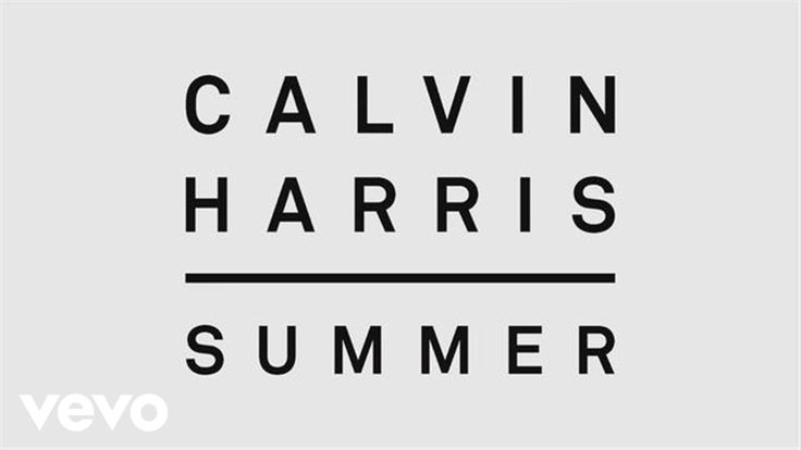 Calvin Harris - Summer (Audio) - YouTube