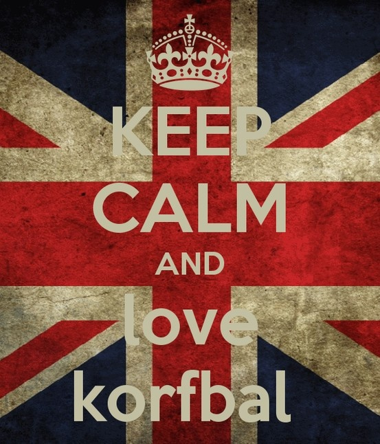 Keep calm and love korfbal!