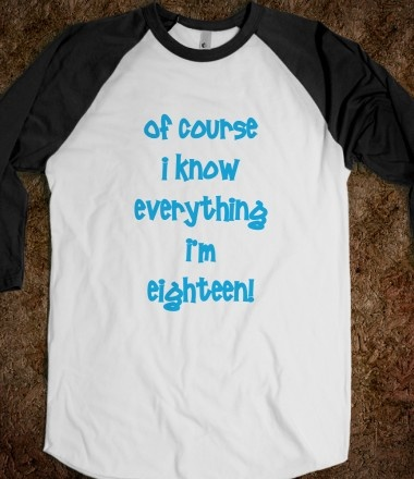 I think every 18 year old needs this for the 18th birthday lol (for my sis)