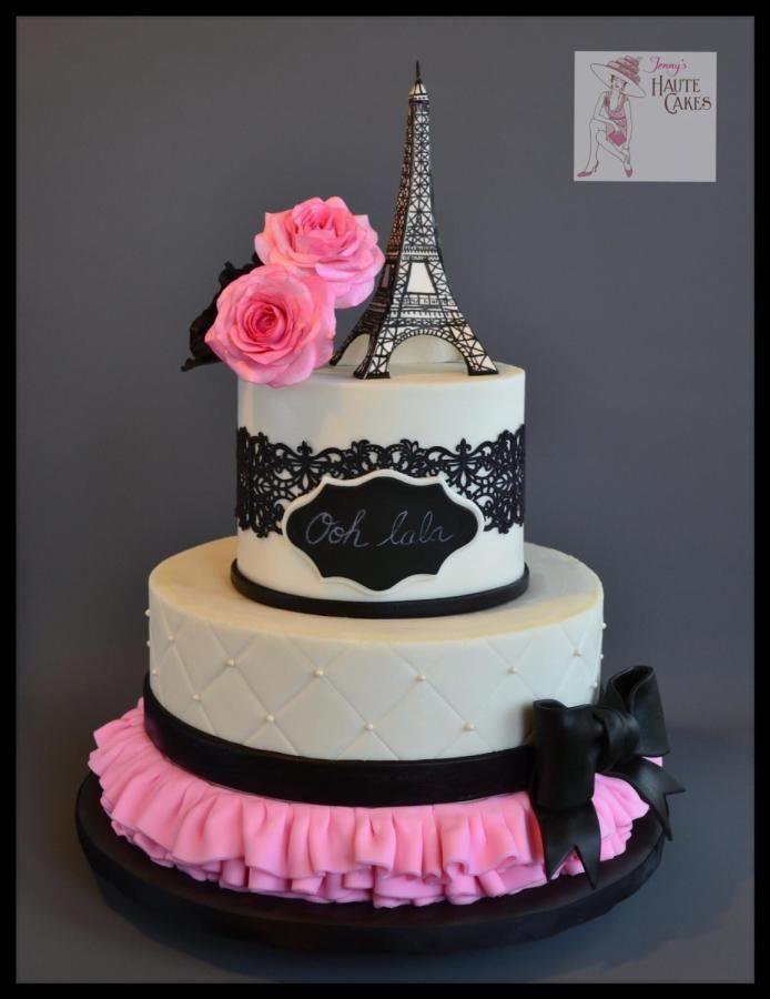 Cake Images With Name Pari : 25+ melhores ideias sobre Bolos Tematicos De Paris no ...