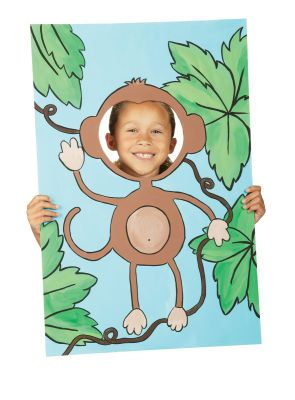 #Monkeys Party... Summer Fun Monkey Photo Scene