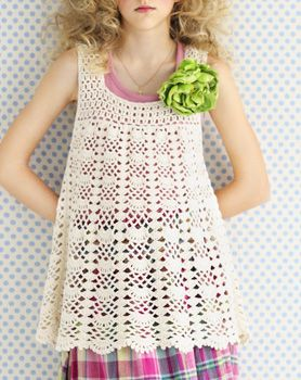 Crochet tunic - free pattern