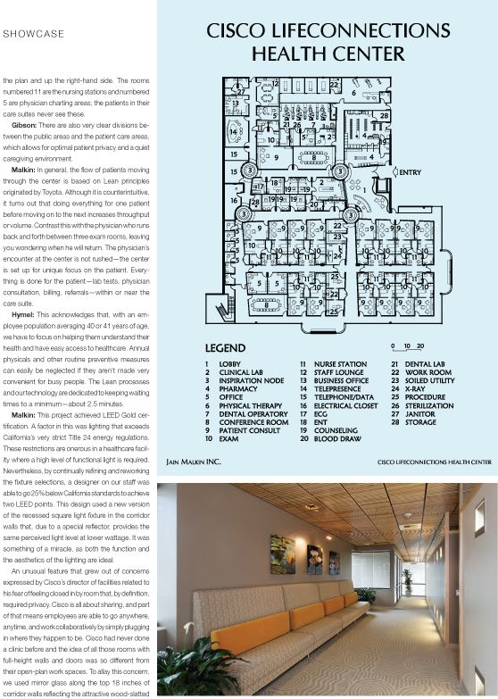 Cisco LifeConnections Featured Article In Healthcare Design Magazine