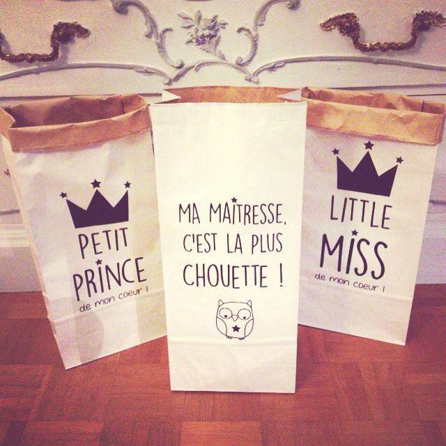 Cadeau des maîtresses - Ma maîtresse, c'est la plus chouette ! : Accessoires de maison par suite-creative-babies