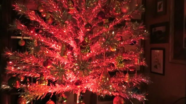 Color Wheel On The 1960 Aluminum Christmas Pom Pom Tree Vintage Christmas Christmas Pom Pom Pom Pom Tree Aluminum Christmas Tree