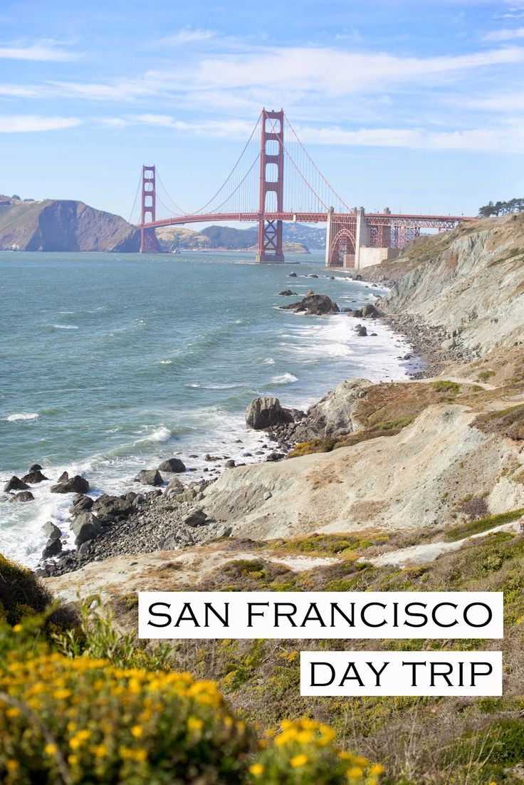 San Francisco Day Trip: Things To Do (slightly off the beaten path) - Come find out about some of the best views of the city, where to get ice cream, and our thoughts on the best burrito in America!