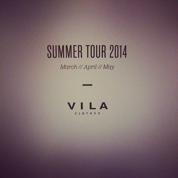 Sneak preview from #vila #clothing. Dont mind if we do!