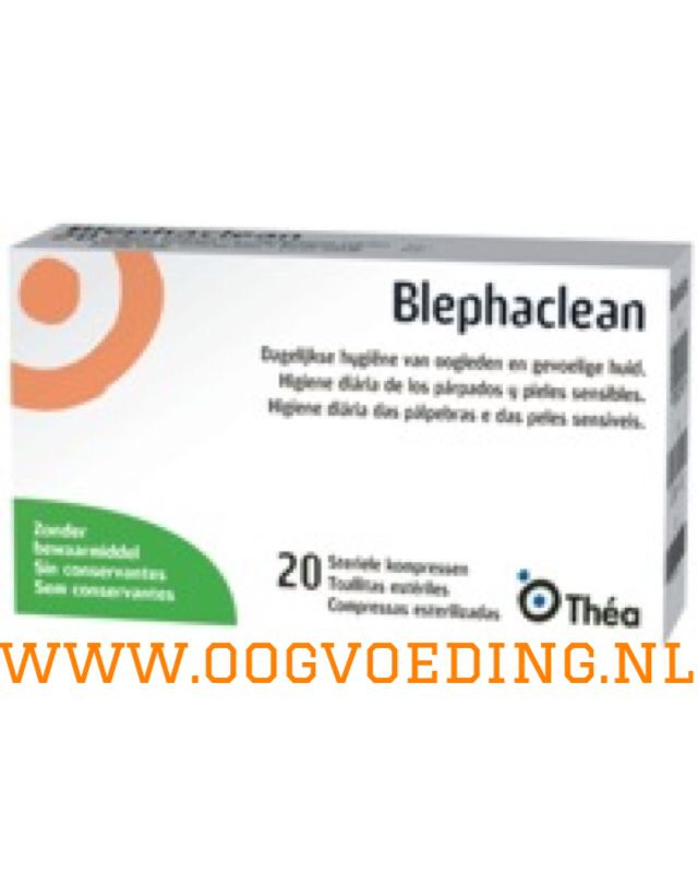 Blephaclean sterile pads for daily hygiene of eyelids and sensitive skin... Keeps eyelids clean before and after ophthalmic procedures!
