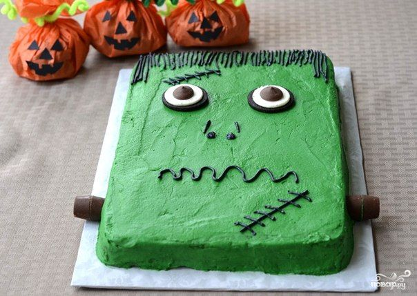 Cake «Frankenstein» Halloween
