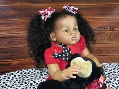 AA / Ethnic Biracial Reborn Toddler For Sale - Taylor